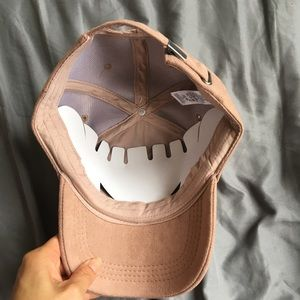 Old Navy Accessories - NWT Faux Suede Ball Cap Hat